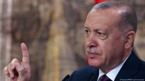 Der türkische Präsident Recep Tayyip Erdogan; Foto: Reuters/PPO/M.Cetinmuhurdar