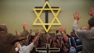 """Aus dem Dokumentarfilm """"'Til Kingdom Come""""- """"Bis zum jüngsten Tag – Trump, die Evangelikalen und Israel"""".  Foto: NDR/Met Film Sales/Abraham (Abie) Troen"""
