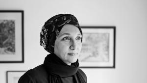 Sudanesisch-ägyptische Schriftstellerin Leila Aboulela. Foto: Judy Laing