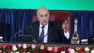 Der algerische Präsident Abdelmadjid Tebboune (Foto: picture-alliance/dpa)