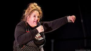 Die deutsche Kabarettistin Idil Baydar. Foto: picture-alliance/dpa/C. Soeder