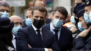 Kündigte ein entschiedeneres Vorgehen gegen den radikalen Islam an: Frankreichs Präsident Emmanuel Macron