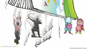 Symbolbild: Iranische Schulbücher . (Foto: DW)
