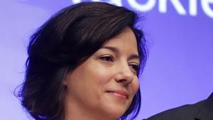 Die niederländisch-libanesische Journalistin und Autorin Kim Ghattas. (Foto: Chip Somodevilla/Getty Images/AFP)