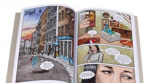 """Ausschnitt aus """"The Prophet: A Graphic Novel"""", neu adaptiert und illustriert von Pete Katz (herausgegeben von Canterbury Classics)"""