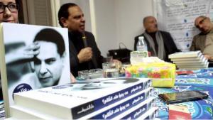 Der ägyptische Autor Alaa al-Aswani während einer Buchvorstellung in Kairo.
