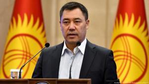 Favorit bei der Präsidentschaftswahl: Sadyr Schaparow.
