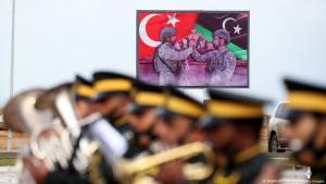 Türkisches Militär in Libyen. Szene aus Tajoura, südöstlich von Tripolis, November 2020