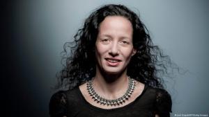 Die marokkanische Schriftstellerin Meryem Alaoui (Foto: JOEL SAGET/AFP/Getty Images)