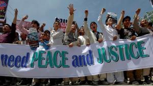 Proteste in Kabul gegen Anschläge auf Hazara in Pakistan. Foto: Reuters