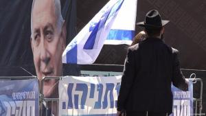 Israel: Benjamin Netanjahu ist überall präsent. Foto: DW