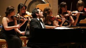 Der syrische Komponist und Pianist Malek Jandali. Foto: Malek Jandali