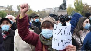 Armenien Erevan | Proteste; Foto: Lusi Sargsiyan/Tass/dpa/picture-alliance