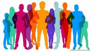 Symbolbild Diversity Diversität Unternehmen