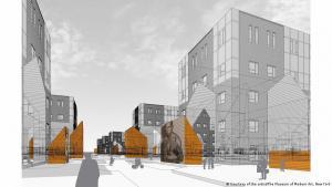 Die MoMA-Ausstellung zeigt, wie Stadtplanung gesellschaftliche Spaltung fördert. (Foto: Courtesy of the artist /The Museum of Moderne Art New York)