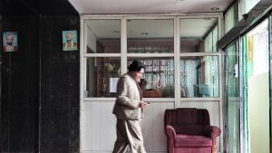 Die Lobby des Hotel Spinzar in der Innenstadt von Kabul; Foto: Emran Feroz