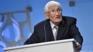 Der deutsche Philosoph Jürgen Habermas; Foto: picture-alliance/dpa/Pansch