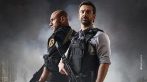 """Die ägyptische Serie """"El-Ekhteyar 2"""" wurde von einer militärnahen Produktionsfirma geschaffen - und folgt einem dementsprechendem Narrativ. (Foto: ON TV)"""