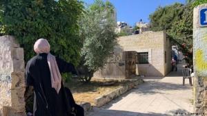 Haus der Familie Al Kurd in  Sheikh Jarrah, einem arabischen Viertel in Jerusalem. Möglicherweise muss die Familie bald ausziehen (Foto: Tania Kraemer/DW)