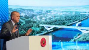 Der Kanal Istanbul ist das aktuelle Megaprojekt des türkischen Präsidenten Recep Tayyip Erdogan. (Foto: Türkisch Presidential Press Office Reuters/ Reuters )