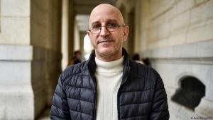 Der algerische Islamwissenschaftler Said Djabelkhir; Foto Ryad Kramdi/AFP