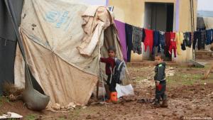 Zeltlager in Idlib; Foto: HIHF/Welthungerhilfe