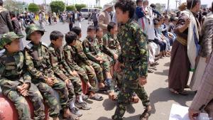 Kindersoldaten im Jemen: vom Sommerlager an die Front. (Foto: Privat)