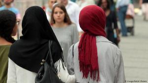 Muslimische Frauen Frauen in München.