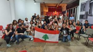 Aktivistengruppe Minteshreen aus dem Libanon; Foto: Minteshreen