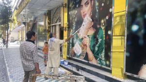 Frauen in Afghanistan fürchten um ihre Rechte unter den Taliban. (Foto: Kyodo/dpa/picture alliance)