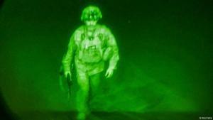 Generalmajor Christopher Donahue, Kommandeur der 82. US-Luftlandedivision, ist der letzte US-Soldat, der Afghanistan verlassen hat. (Foto: Reuters)