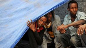Flüchtlinge aus Eritrea; Foto: picture-alliance/dpa