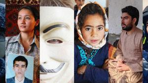 Homepagebanner des Human Rights Festivals in Berlin 2021; Quelle: Human Rights Festival