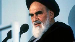 "Irans ""Oberster Revolutionsführer"" Ayatollah Khomeini. (Foto: AP)"