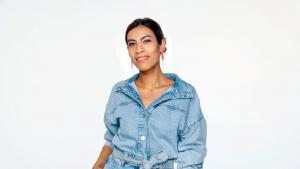 Die Ärztin und Journalistin Nemi El-Hassan. (Foto: WDR/Tilman Schenk)