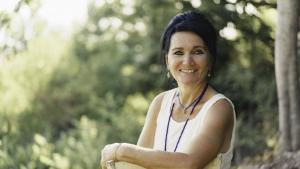 Die iranisch-deutsche Autorin Siba Shakib; Foto: Giacomo Terracciano