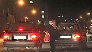 Sexarbeiterin in den Straßen von Teheran, Iran (Foto: Mehr)