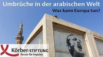 Logo Körber-Stiftung Umbrüche in der arabischen Welt