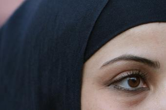 Muslima mit Kopftuch; Foto: dpa