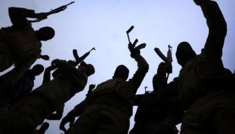 IS-Kämpfer im Irak; Foto: Safin Hamed/AFP/Getty Images