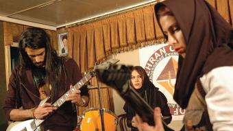 Hardrock-Band in Iran; Foto: DW/H.Kermani