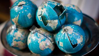 Symbolbild Globalisierung; Foto: dpa/picture-alliance