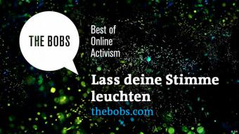 Logo Bobs Awards 2016; Quelle: DW