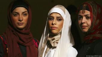 Models bei einer Modenschau in Teheran; Foto: Getty Images