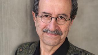 Der deutsch-syrische Autor Rafik Schami; Foto: Peter Hassiepen 2015