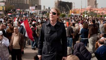 Getötete Kriegsreporterin Marie Colvin; Foto: dpa/picture-alliance