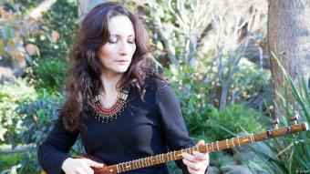 Iranische Musikerin Ghazaleh Feiliy; Foto: privat
