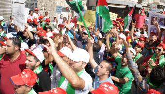 Demonstration in Jordanien; Foto: © Yazan Doughan