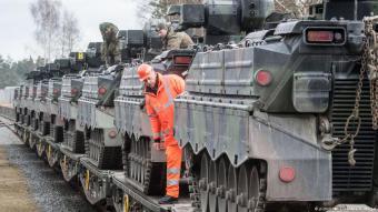 Deutscher Rüstungsexport; Foto: dpa/picture-alliance