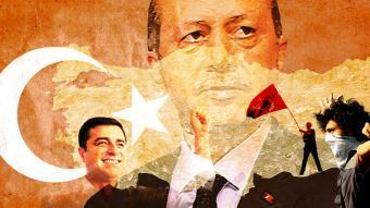 """Logo """"Türkei: Zwischen Demokratie und Autokratie"""""""